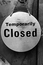 Fermeture temporaire